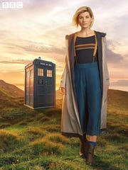 The BBC revealed Jodie Whittaker's look as The Doctor