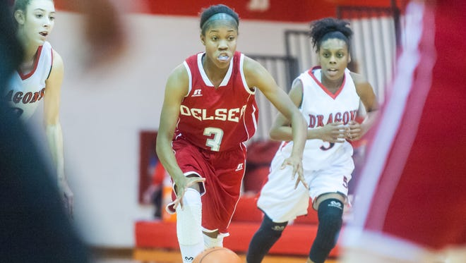 Delsea's Wykira Johnson-Kelly is one of the top returners in the area this season.