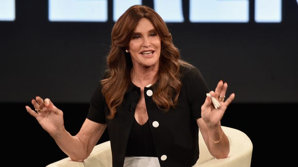Caitlyn Jenner at AOL's 2016 MAKERS Conference earlier