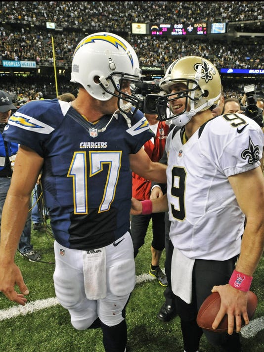 Philip Rivers , Drew Brees