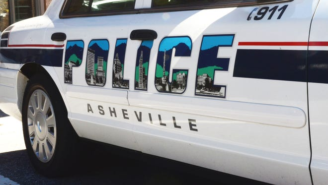 Asheville Police Department patrol car