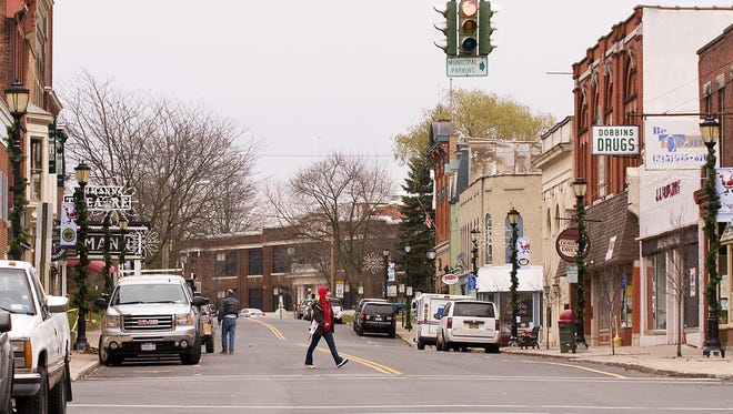 Voters in Lyons, Wayne County, passed a dissolution vote in 2012.
