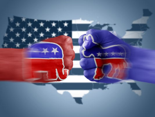 Republicans x Democrats