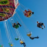 4/8-12: MARICOPA COUNTY FAIR | Thrill rides, fried foods, a shark encounter, carnival games and a monster-truck show are part of the fun, along with a livestock show of  more than 600 pigs, sheep, goat, cattle, rabbits and chickens. There also will be a robotics display,  crafts and fine artwork,  a shopping pavilion and  a science fair. DETAILS: April 8-12. 10 a.m.-10 p.m. Wednesday, Thursday and Sunday; 10 a.m.-midnight Friday and Saturday. Arizona state fairgrounds, 19th Avenue and McDowell Road, Phoenix. $9; free for age 7 or  younger; $7 for parking. Four free rides for students K-6 on April 9 and free admission for seniors 55 or older April 8. maricopacountyfair.org.