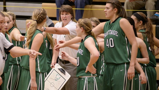 Mountain Heritage girls basketball coach Susie Shelton and the Cougars should once again be one of the top teams in Western North Carolina.