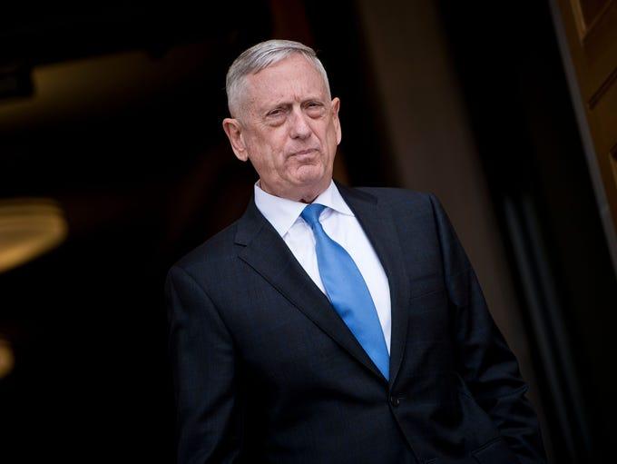 James Mattis resigned as Secretary of Defense on Dec.