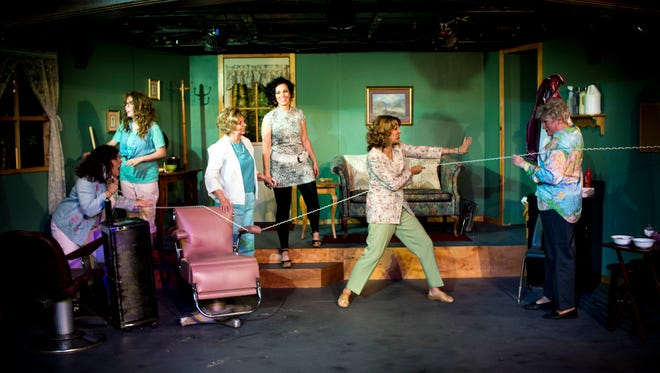 """""""Steel Magnolias"""" at Brigham's Playhouse in Washington City benefits from a strong cast of six women."""