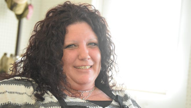 """Iris Thompson has been drug-free the last 10 years. She thanks """"God and drug court"""" for getting her life back."""