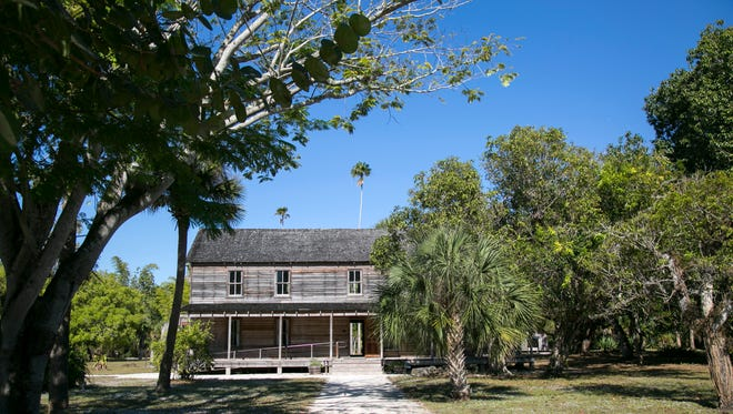The Founders Home at the Koreshan State, which was built in 1903, was renovated in 1992.