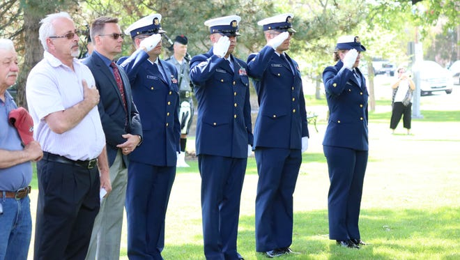 The Oak Harbor Police Department hosted the 2017 Ottawa County Peace Officers Memorial service at Flat Iron Park on Thursday.