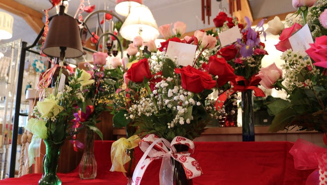 The nicer weather on Valentine's Day has helped Mary's Blossom Shoppe in downtown Port Clinton.