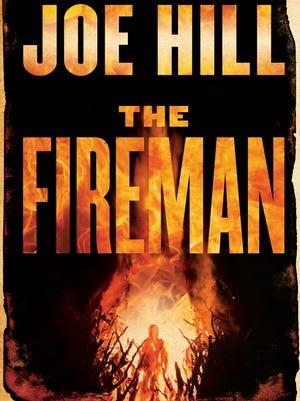 "Cover of Joe Hill's ""The Fireman."""