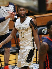 Anderson sophomore guard Randall Shaw led the South Atlantic Conference in scoring for much of the season, but missed six games due to injury and sickness.