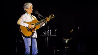 Folk legend Joan Baez performed at the Pabst Theater Sunday.