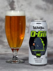 O-Gii is a tea-infused imperial witbier born in brewer