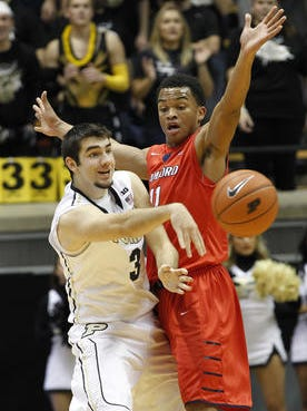 Purdue did have a couple of areas of concern from Friday's blowout win.