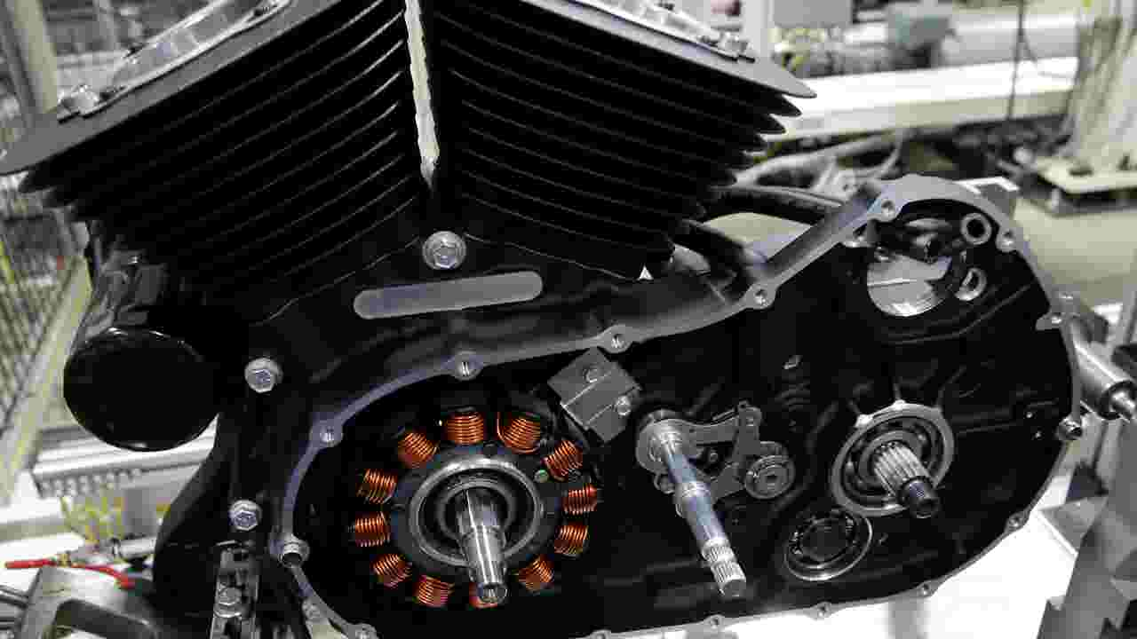 Harley unveils new engine
