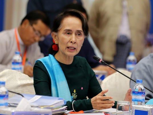 EPA MYANMAR POLITICS GOVERNMENT POL GOVERNMENT MYA NA