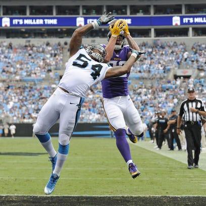 Vikings end Panthers' home winning streak