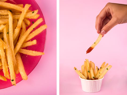 Truffle fries from BALEEN Naples