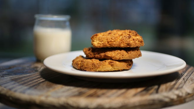 Today, grocery store shelves offer reduced-fat, low-sodium, and less-sugar peanut butters. Regular peanut butter isn't that unhealthy though and can be used in Peanut Butter Oatmeal Cookies.