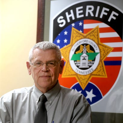 Interim Rutherford County Sheriff Mike Fitzhugh in