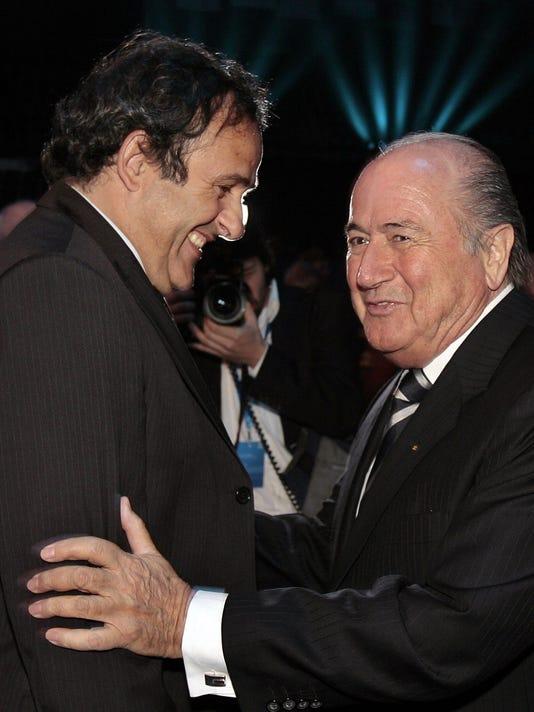 Joseph Blatter, Michel Platini