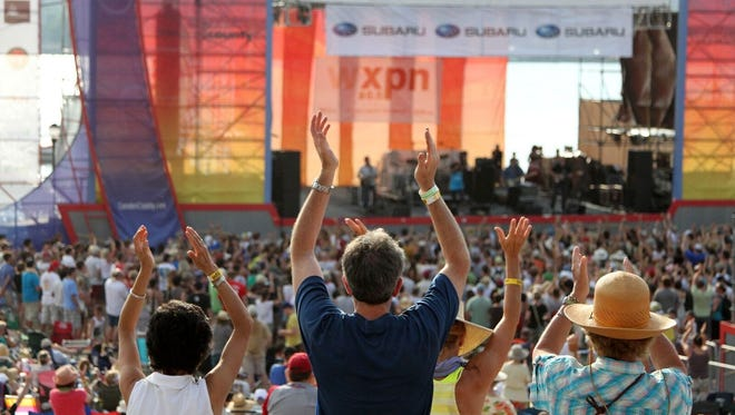 The XPoNential Music Festival is the largest musical event in South Jersey each summer. The three-day event takes place in Wiggins Park and the BB&T Pavilion on the Camden Waterfront.