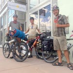 Trio of friends pass through Silver on Continental Divide trip