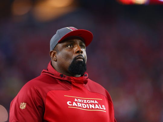 Brentson Buckner has been the Arizona Cardinals' defensive line coach since 2013.
