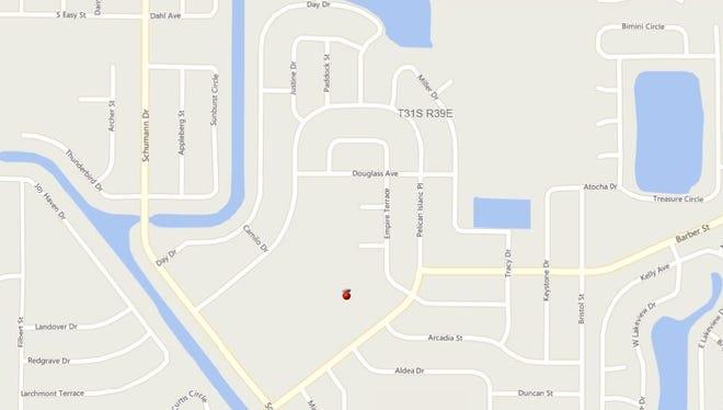 A 10-acre burn is planned for Wednesday, Jan. 4, 2017, behind Pelican Island Elementary School ii Sebastian.