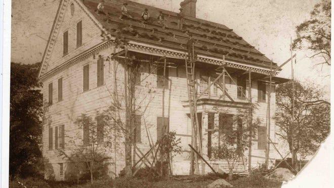c.1900, Poplar Hill Mansion.