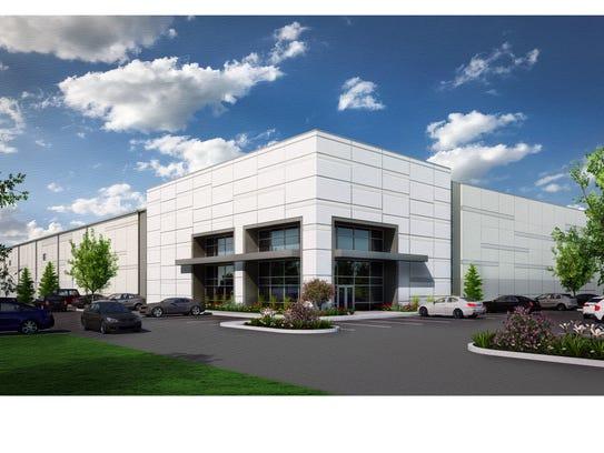 A rendering of the Erlanger Commerce Center.