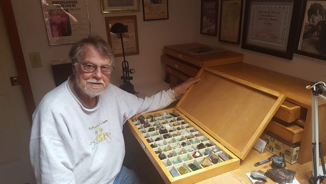 John White of Hopewell Township was mineral curator for the Smithsonian until he retired in 1991.