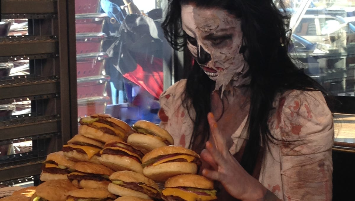 Image result for zombie food
