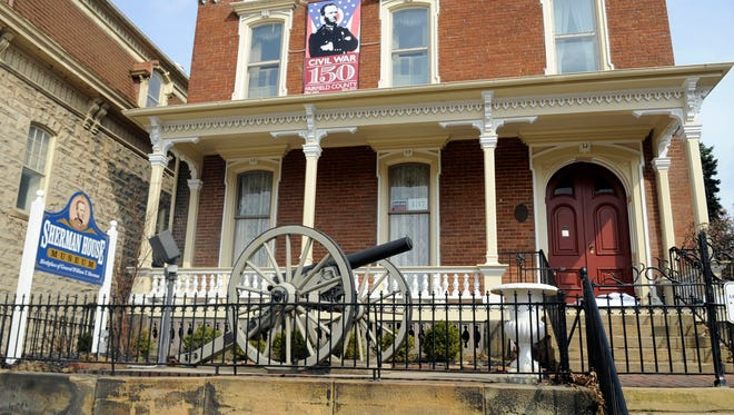 The Sherman House Museum in Lancaster.