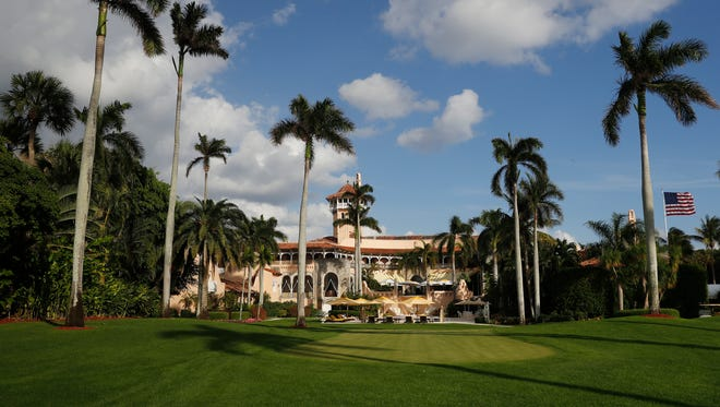 The public is getting a glimpse of visitor logs for President Trump's Florida resort Mar-a-Lago