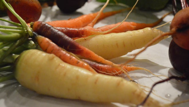 Carrots come in a host of colors.