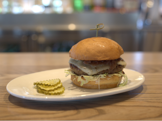 Zinburger serves up delicious burgers in a sleek, upscale