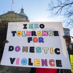 Even at the White House, domestic abuse was a secret. Don't hide this, fight it.