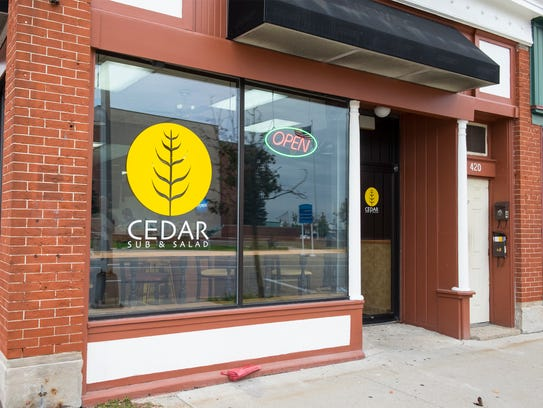 Cedar Sub and Salad, located at 420 Huron Ave. in Port