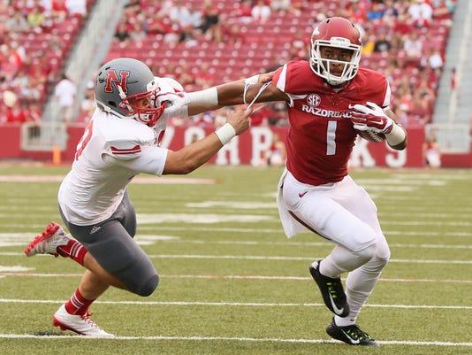 NCAA Football: Nicholls State at Arkansas