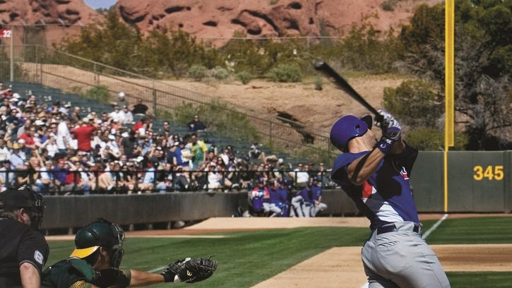 Spring training in Arizona a 'homerun'