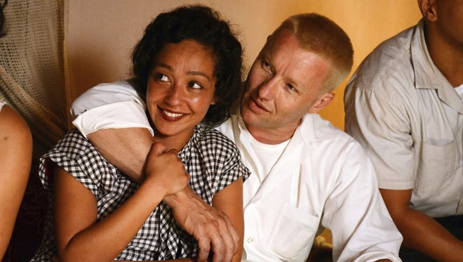 "Ruth Negga, left, and Joel Edgerton portray Richard and Mildred Loving in ""Loving."" The film is showing at Regal's Downtown West theater."