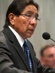Hopi Chairman Herman Honanie