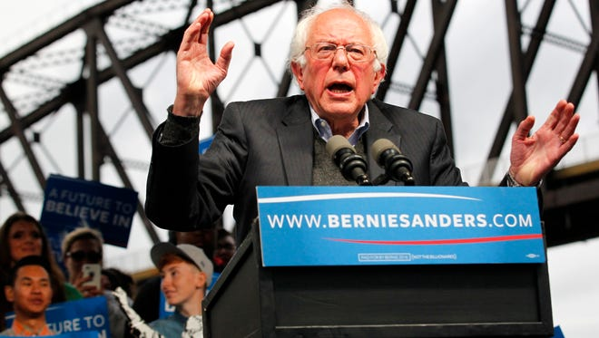 Democratic presidential candidate Bernie Sanders plans New Jersey rallies as the state's June 7 primary approaches.