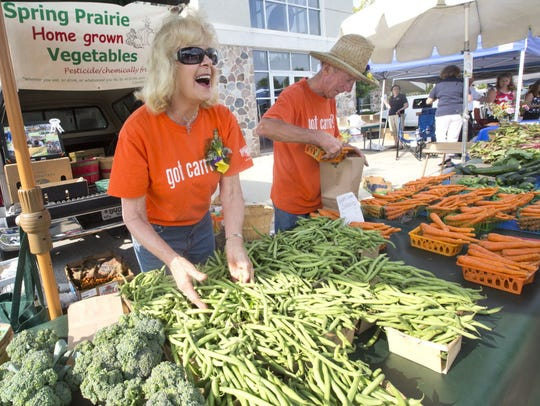 The Brookfield Farmers Market is open from 7:30 a.m.