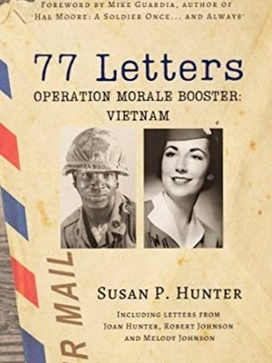 Former Scituate resident Susan Hunter of Nashville wrote this book after she discovered a bundle of letters her mother, Joan Hunter, wrote in the 1960s and early 1970s to American soldiers in Vietnam. Joan Hunter, now 84, has dementia but occasionally remembers her letter writing legacy. She lives at the Village at Proprietors Green in Marshfield.