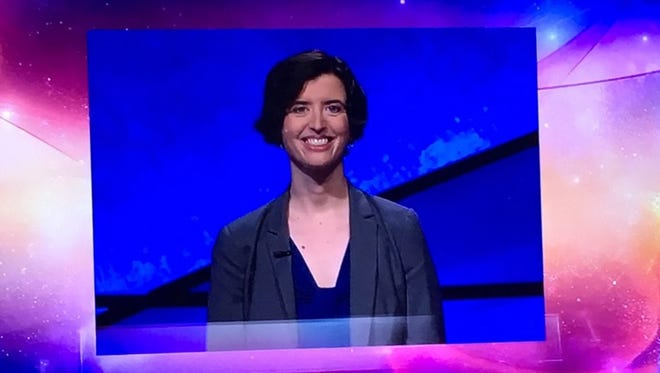 Pace University Professor Kate Fink competes on JEOPARDY!