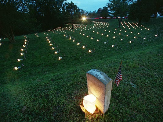 Vicksburg Military Park, luminaries